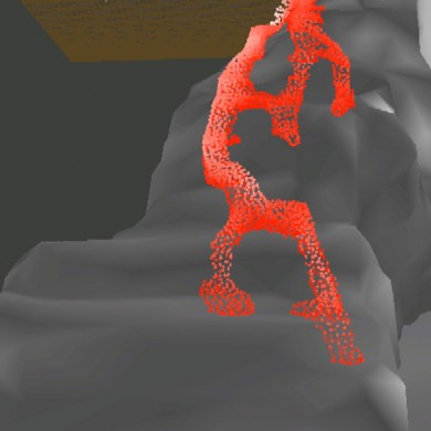 3d Lava Sim (detail). Produced by ARENANET.